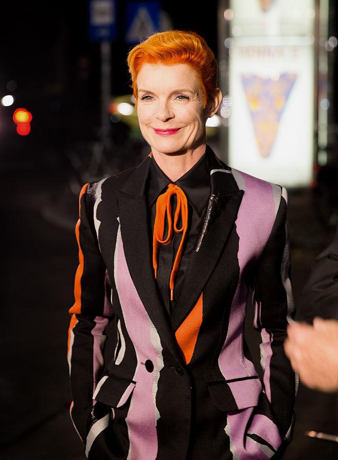 Sandy Powell, soirée d'ouverture du Festival international du film de Vienne 2015 à Gartenbaukino à Vienne, en Autriche.